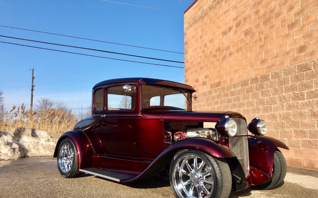 1931 Model A Coupe Ford