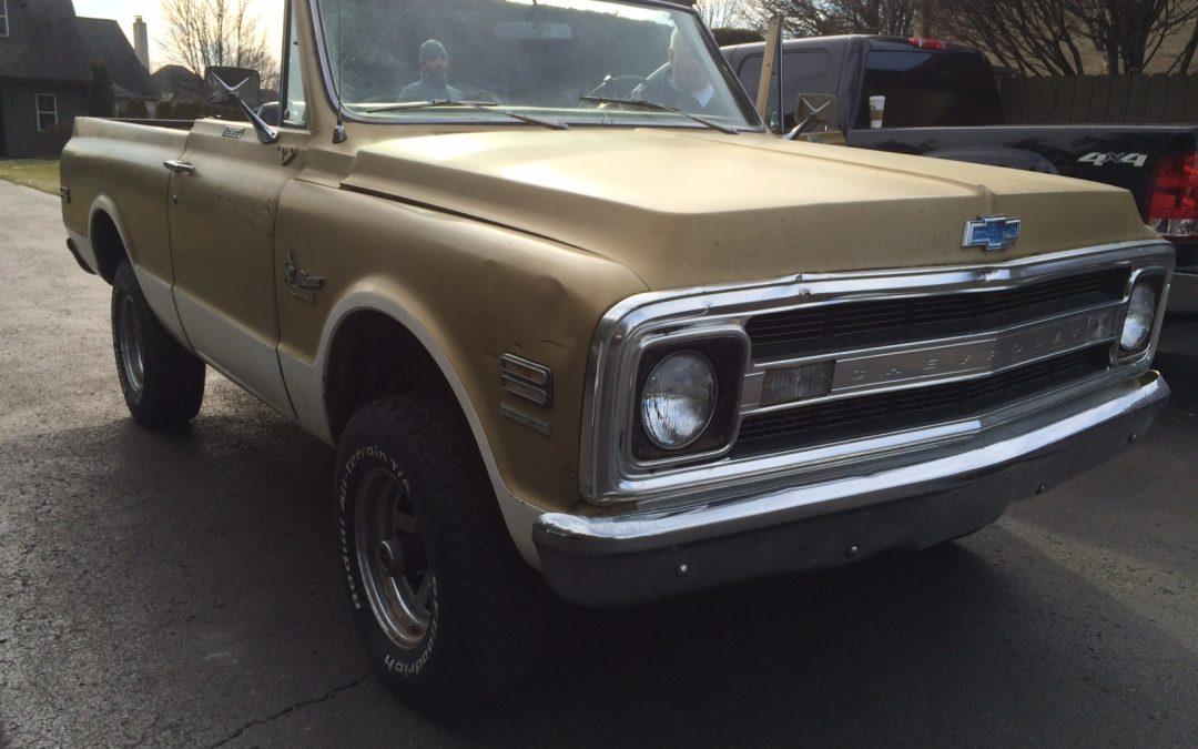 1970 Chevy k5 Blazer