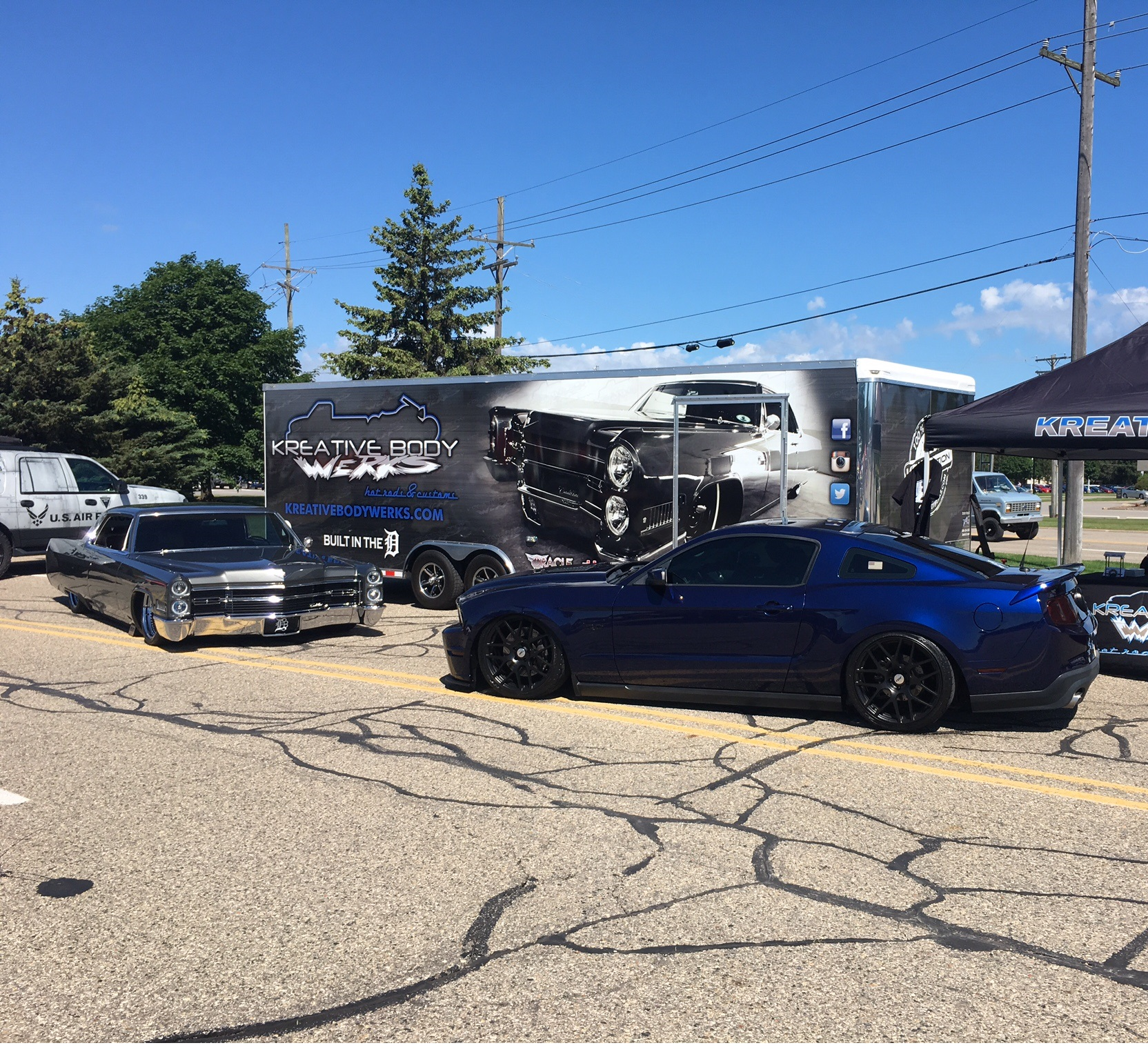 2018 Catch The Vision Car Show And Cruise Marquetete Township Mi Glr 015