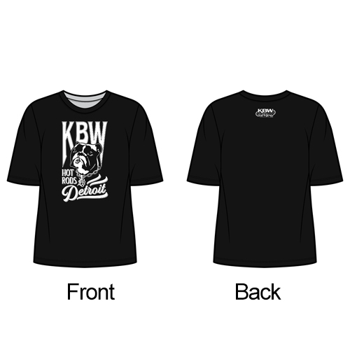 KBW Detroit Eleanor Bulldog Shirt